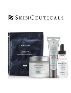 Skinceuticals Pack Hydrating B5 + Daily Moisture + Ultra Facial Defense + Mascarilla Biocelulosa